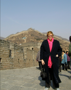Great Wall of China, Fran, March 2005