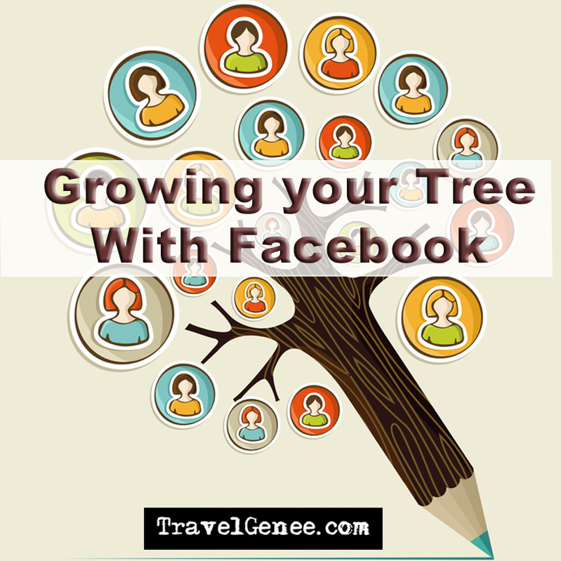 Grow your family tree with facebook