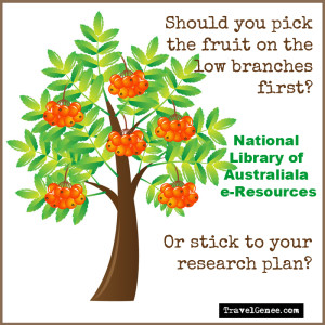 National LIbrary genealogy e-Resources