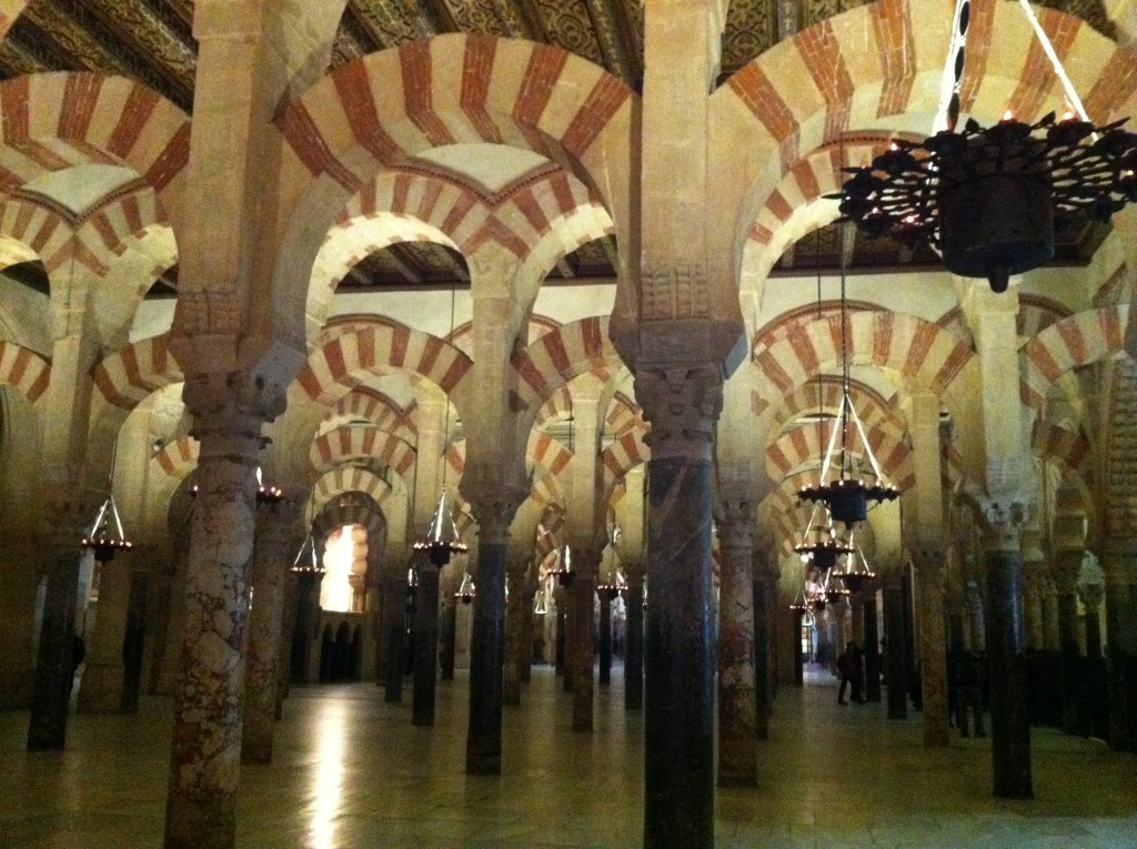 Great Mosque at Cordoba, Spain,