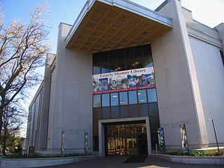 LDS Family History Library, Utah