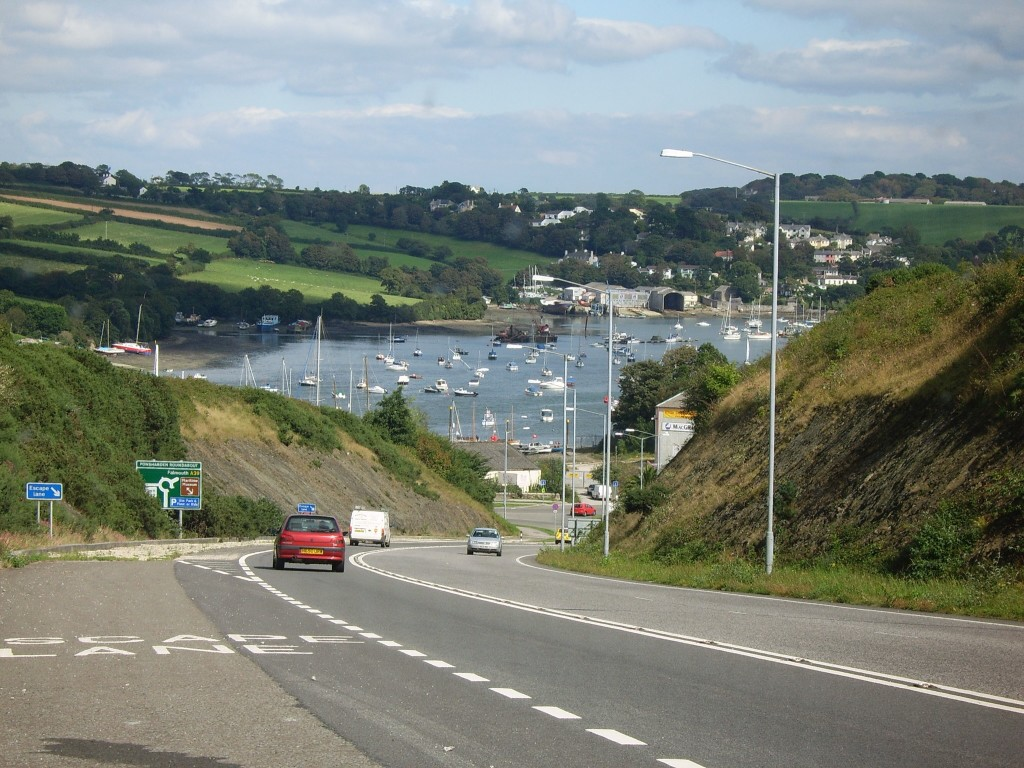 Visiting your ancestral town - Falmouth, Cornwal