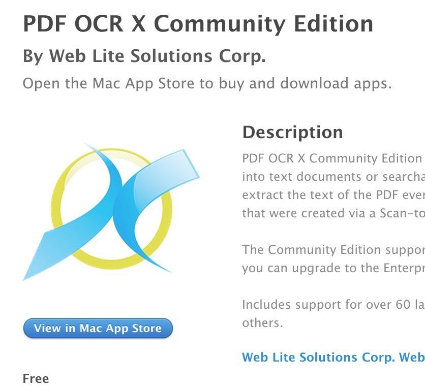 PDF OCT X Community Edition
