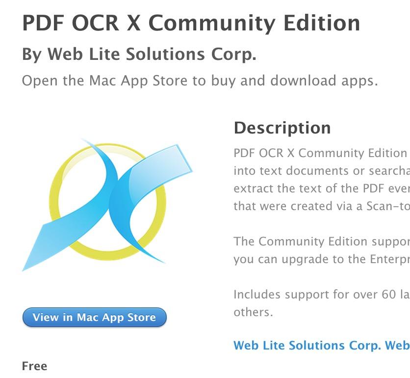 PDF OCT X Community Edition