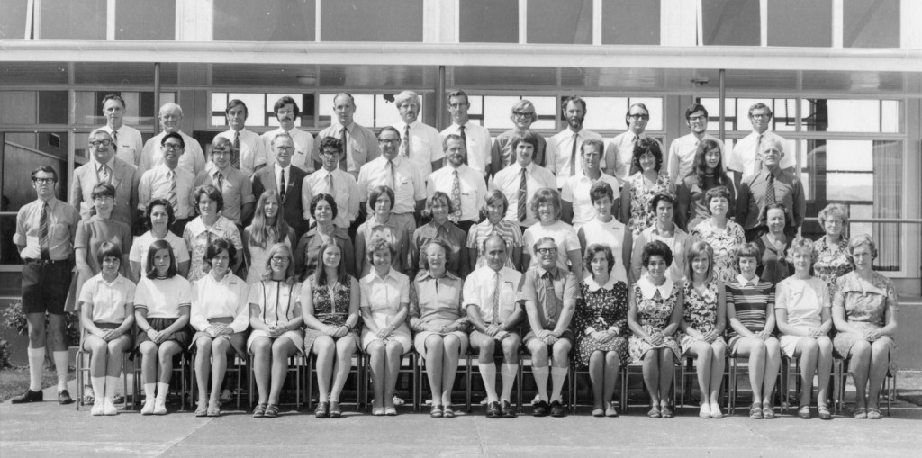 Upper Hutt College Staff 1972