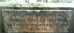 James Miller Ireland grave site