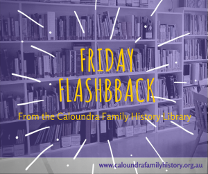 Friday Flashbacks - Our Library