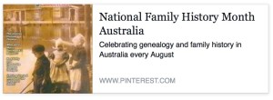 Family History Month on Pinterest