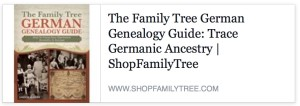 German Genealogy Guide