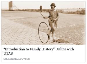 UTAS Family History Study