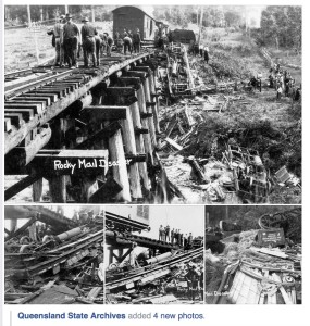 Traveston rail disaster 1925