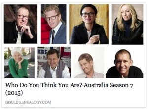 Who Do You Think You Are? Australia Season 7 (2015)