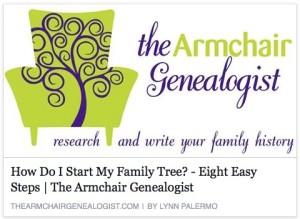 How Do I Start My Family Tree? - Eight Easy Steps
