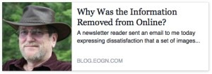 Why Was the Information Removed from Online?
