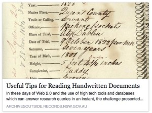 Useful Tips for Reading Handwritten Documents