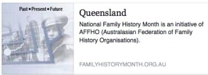 Family History Month QLD
