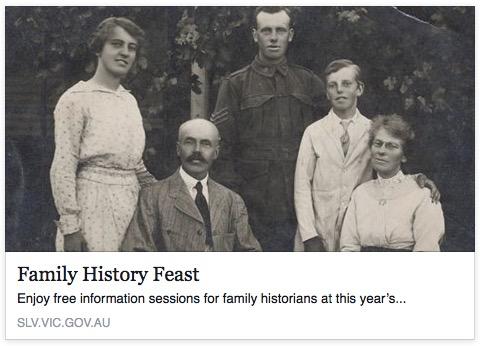 Family History Feast