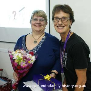 Thanks Helen V Smith for the talk.