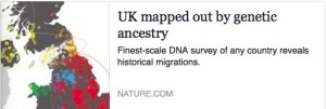 UK mapped out by genetic ancestry