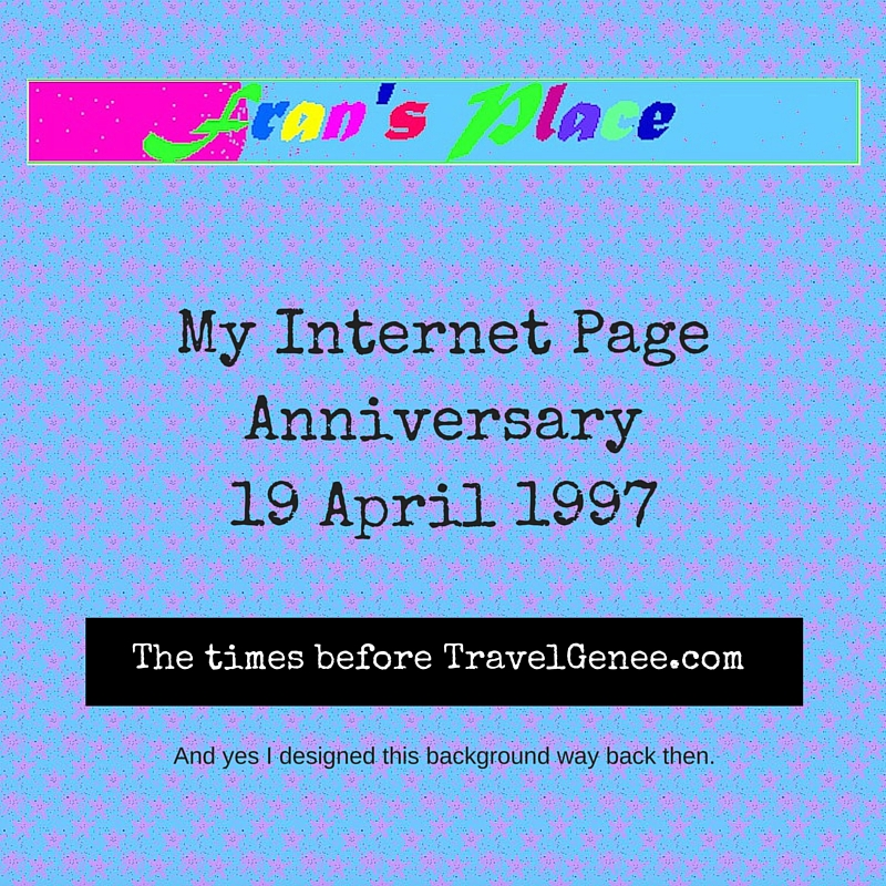 My Internet Page Anniversary