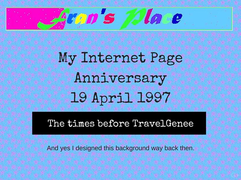 My Internet Page Anniversary