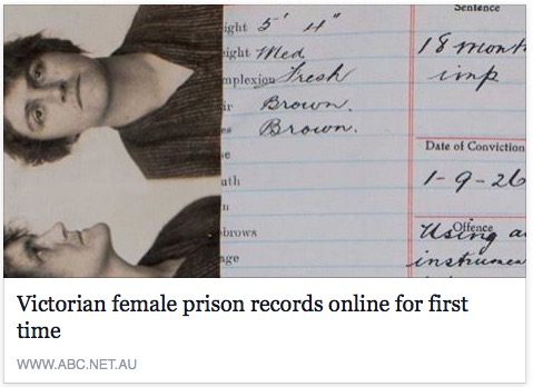Murderers, prostitutes, mothers and paupers: Victorian female prison registers online for first time