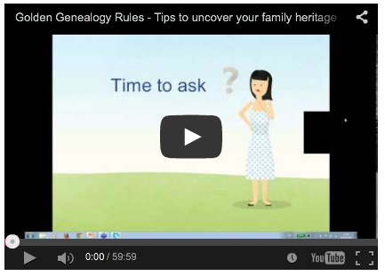 Golden Genealogy Rules: Webinar