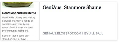 Stanmore Shame