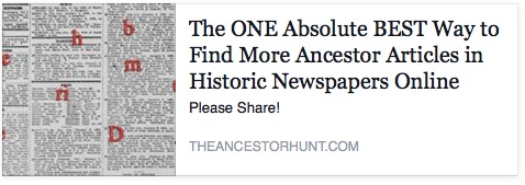 The ONE Absolute BEST Way to Find More Ancestor Articles in Historic Newspapers Online