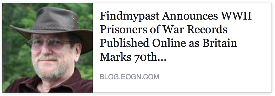 Find My Past WW!! prisoner of war records
