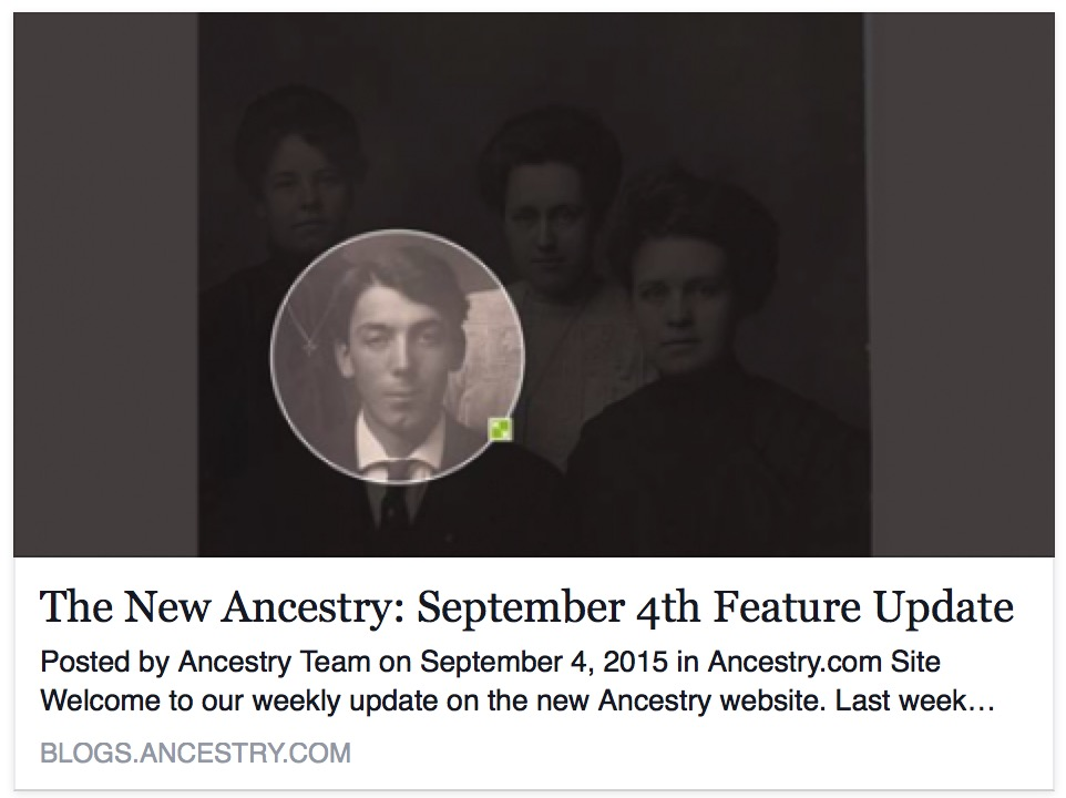 New Ancestry Image cropping
