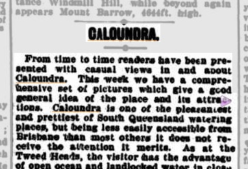 Trove Tuesday: Caloundra