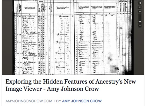 Exploring the Hidden Features of Ancestry's New Image Viewer