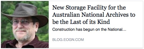 New Storage Facility for the Australian National Archives to be the Last of its Kind