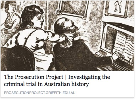 PROSECUTION PROJECT – is a project to digitise and transcribe court records across Australia.