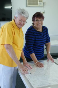 Caloundra Family History map encapsulation working bee