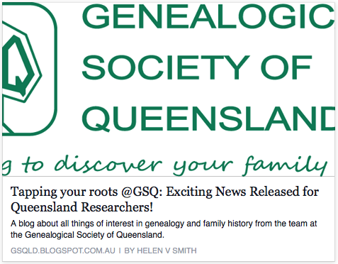 GSQ Genealogy Website