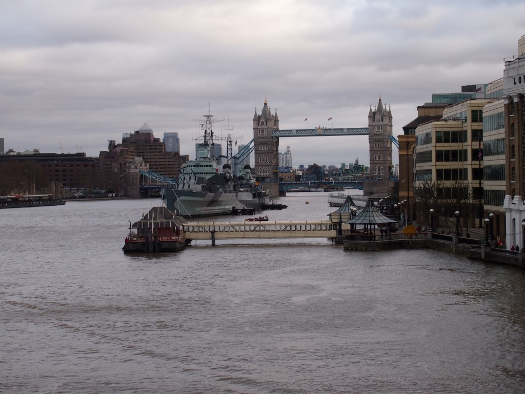 Visiting ancestors homes: London Tower Bridge