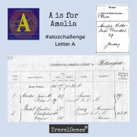A is for Amelia #atozchallenge