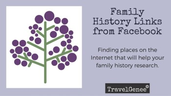 Permalink to: Family History Links on Facebook