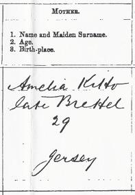 Amelia BRETEL spelt Brettel