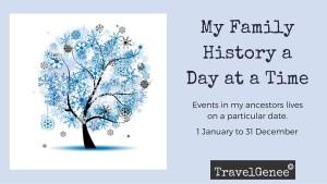 My Family History Calendar