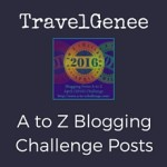 TravelGenee #atoz Reflections