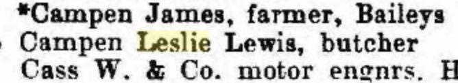 Leslie-Lewis-Campen-butcher-directory