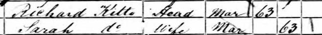 Extract 1861 England Census: Class: RG 9; Piece: 1556; Folio: 73; Page: 13; GSU roll: 542830