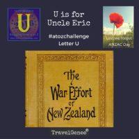 TravelGenee #atozchallenge U - Uncle Eric