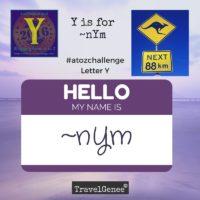 TravelGenee #atozchallenge Y for ~nYm