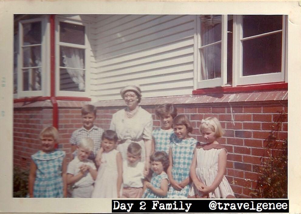 Day 2 Family: grandchildren of Grace Shepherd