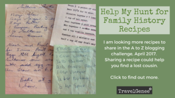 Permalink to: Help My Hunt for Family History Recipes