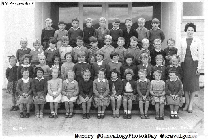 genealogyphotoaday school days